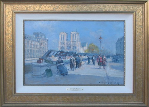 Title: NOTRE DAME - PARIS , Size: 13 x 18 , Medium: Oil on Canvas