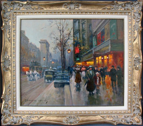 Title: PORTE ST. DENIS , Size: 18.5 x 21 , Medium: Oil on Canvas