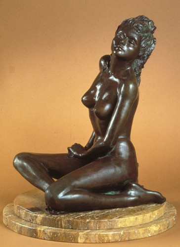 Title: SERENITY , Medium: Bronze