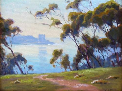 Title: MORNING LIGHT , Size: 12 x 16 , Medium: Oil on Canvas