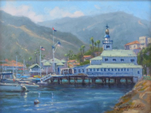 Title: CATALINA SUNSHINE , Size: 9 x 12 , Medium: Oil on Canvas