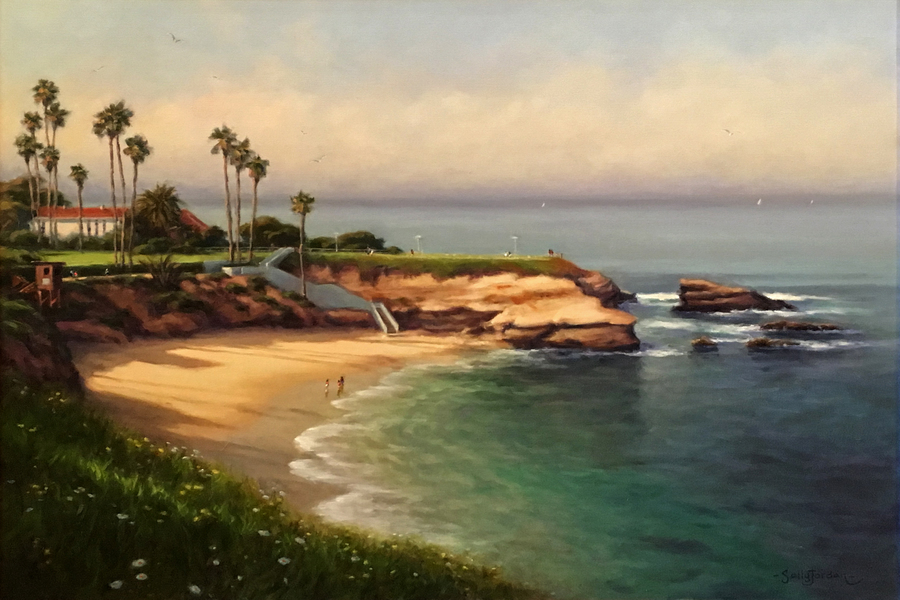 Title: Morning in Paradise , Size: 24 x 30 , Medium: Oil on Canvas