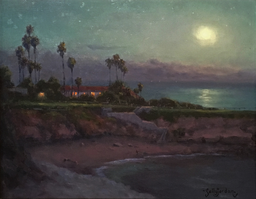 Title: Still of the Night , Size: 12 x 16 , Medium: Oil on Panel
