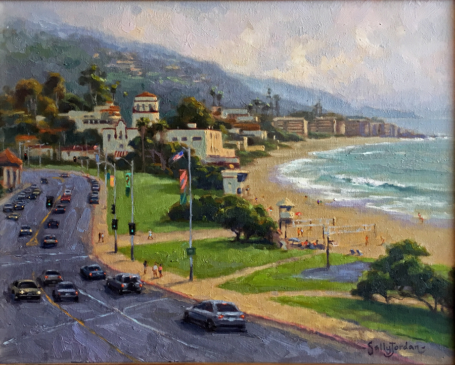 Title: Downtown Laguna , Size: 20 x 16 , Medium: Oil on Panel