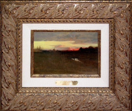 Title: SUNSET , Size: 6 x 9 , Medium: Oil on Canvas