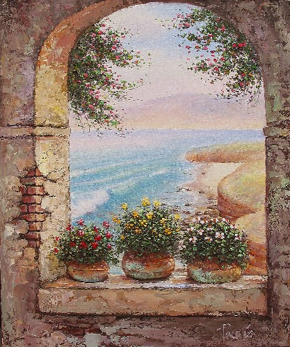 PACO G - LA JOLLA ARCH AND POTS border=