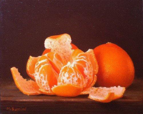Title: DELICIOUS , Size: 8 x 10 , Medium: Oil on Canvas