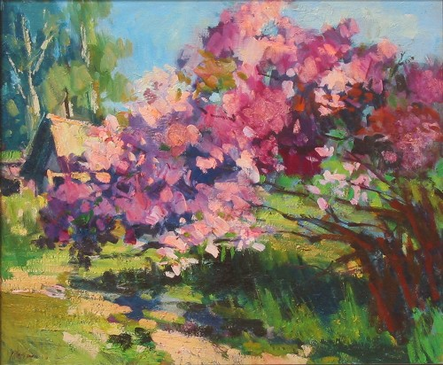 ZAVALOVA - SPRING DAY, LILACS border=