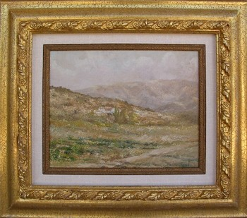 Title: LANDSCAPE , Size: 15 x 18 , Medium: Oil on Panel