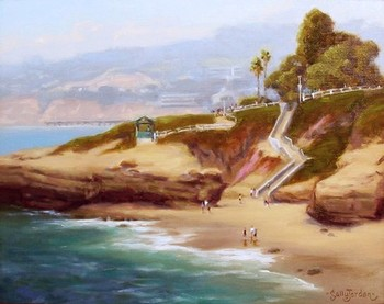 Title: COASTAL SPLENDOR , Size: 12 x 16 , Medium: Oil on Panel