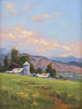 Title: SONOMA SERENITY , Size: 12 x 9 , Medium: Oil on Canvas
