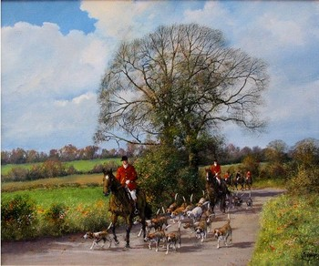 MADGWICK - HUNTING SCENE