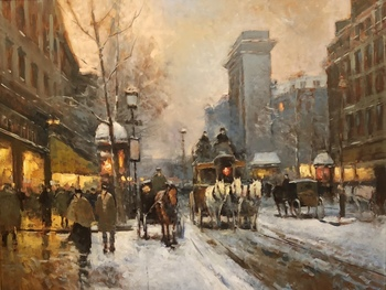 NASONOV - Paris in Snow