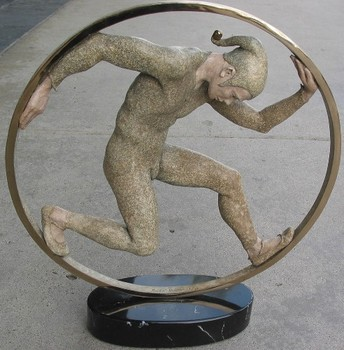 Title: RINGS I , Medium: Bronze