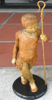 Title: SHEPHERD GIRL , Size: 5 OF 20 , Medium: Bronze