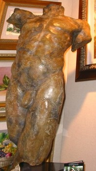 Title: ADAM , Size: 5 OF 9 , Medium: Bronze