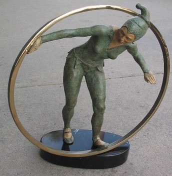 Title: RINGS II (FEMALE) , Medium: Bronze