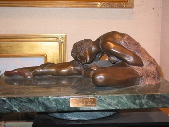 Title: DANCE STUDIO , Size: 2 OF 12 , Medium: Bronze
